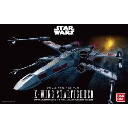 Bandai Star Wars X-Wing Starfighter 1/72 Scale Plastic Model Kit
