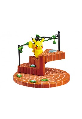 Re-Ment Pokemon Stairs Connect and be cute The City After the Rain