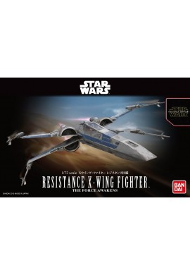 Bandai Star Wars X-Wing Fighter Resistance Specification 1/72 Scale Plastic Model Kit