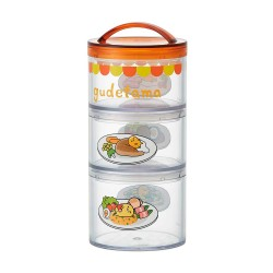 Gudetama 3-tier Lunch Box