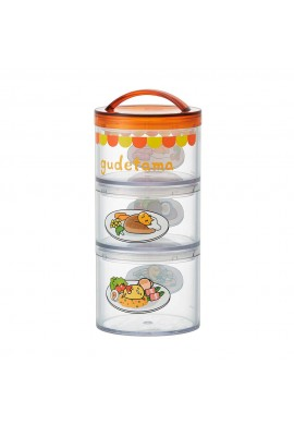 Gudetama 3-tier Lunch Box