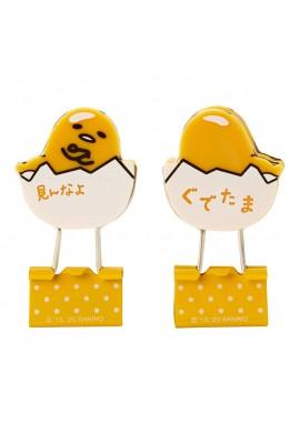 SANRIO Gudetama Character Type Double Clip