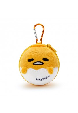 SANRIO Gudetama Accessory Case with Carabiner