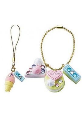Kutsuwa Glitter Mousse Clay Keychain Ice and Cookies PT796