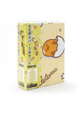 SANRIO Gudetama Bed Cover Set of 3 (Single)
