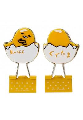 SANRIO Gudetama Gudetama Double Clip Set