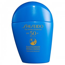 Shiseido Ginza Tokyo Perfect UV Protector SPF50+ PA++++ Synchro Shield Wet Force & Heat Force