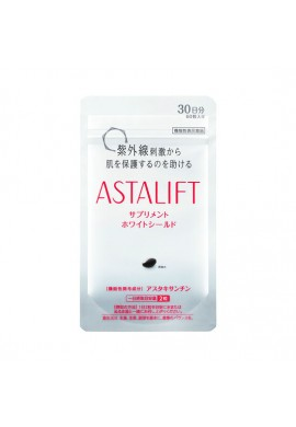 Astalift Astaxanthin Supplement White Shield