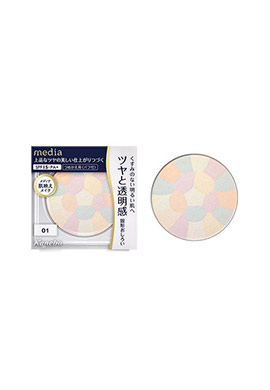 Kanebo Media Brightening Pressed Powder SPF15 PA+ REFILL