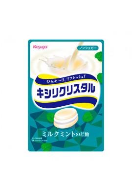 Kasugai Kishiri Crystal Milk Mint Throat Candy