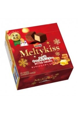 Meiji Meltykiss Butter Caramel Winter Limited