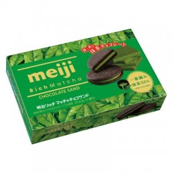 Meiji Rich Matcha Biscuit Green Tea Biscuit