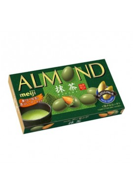 Meiji Almond Chocolate Matcha