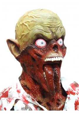 Tongue Out Zombie Narikiri Mask