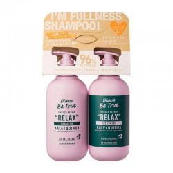 NatureLab Co. Moist Diane Bee True Shampoo & Treatment Set Smooth Repair