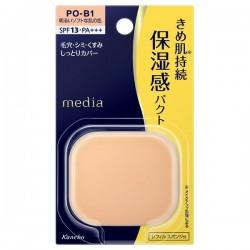 Azjatyckie kosmetyki Kanebo Media Moist Fit Pact UV Foundation SPF20 PA++
