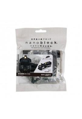 Kawada Nanoblock Nano Gauge Steam Locomotive (Tank Type) nGT_020