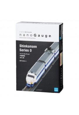 Kawada Nanoblock Nano Gauge Shinkansen Series 0 nGT_001