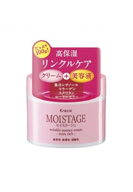 Azjatyckie kosmetyki Kracie Moistage Wrinkle Essence Cream Extra Rich