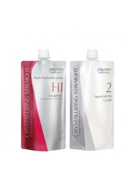 Shiseido Professional Crystallizing Hair Straightener H1 and 2 Set