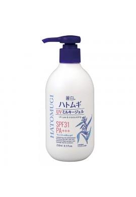 Kumano Cosmetics Hatomugi The UV Milky Gel SPF31 PA+++