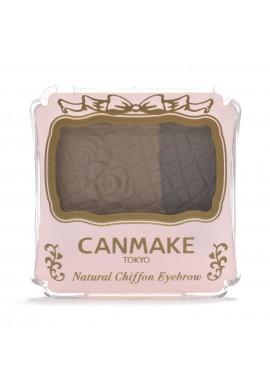 Azjatyckie kosmetyki Canmake Natural Chiffon Eyebrow