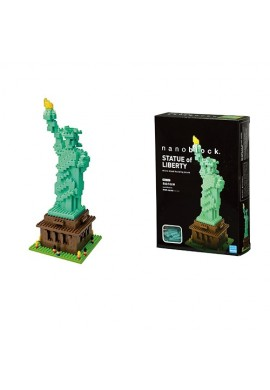 Kawada Nanoblock Sights to See Statue of Liberty