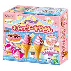 Japońskie słodycze Kracie Popin Cookin Ice Cream Cake Shop Japana zjadam