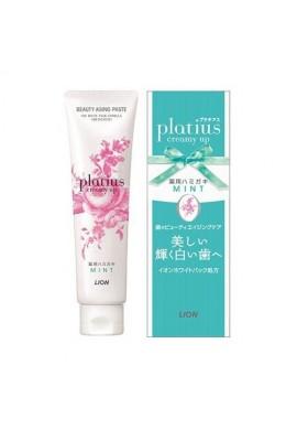 Lion Platius Whitening Toothpaste Creamy UP Paste