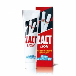 Lion Zact Toothpaste Nicotine Stained Removal