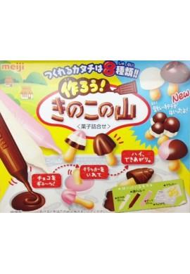 Japońskie słodycze Meiji New Kinoko No Yama Kit Japana zjadam