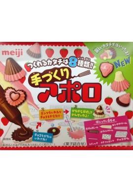 Japońskie słodycze Meiji New Apollo Kit Japana zjadam