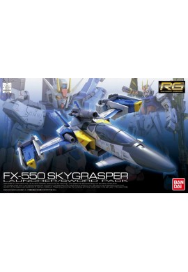 Bandai Gundam RG 1/144 FX-550 Skygrasper (Launcher/Sword Pack)