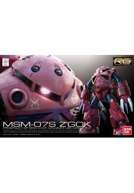 Bandai Gundam RG 1/144 MSM-07S Z'GOK