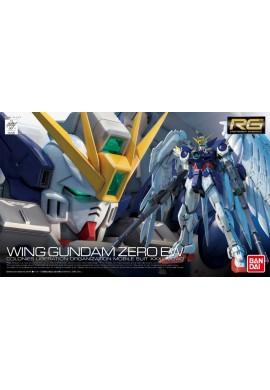 Bandai Gundam RG 1/144 XXXG-00W0 Wing Gundam Zero Custom EW