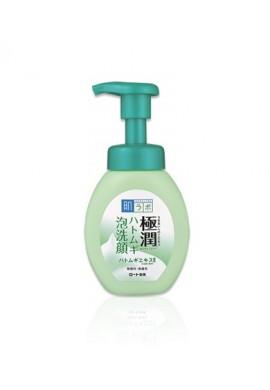 Azjatyckie kosmetyki Rohto Hada Labo Gokujyun Hatomugi Bubble Face Wash
