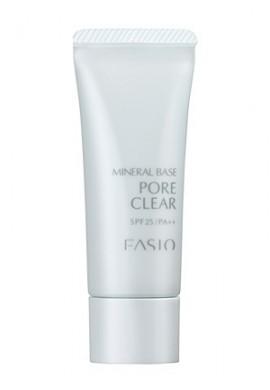 Azjatyckie kosmetyki Kose FASIO Mineral Base Pore Clear SPF25/PA++