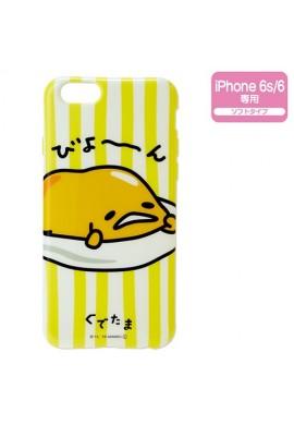 sanrio gudetama smart phone case for iphone 6s 6 soft type japanstore