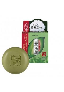 Azjatyckie kosmetyki Rohto Shirochasou Face Wash Soap White & Green Tea