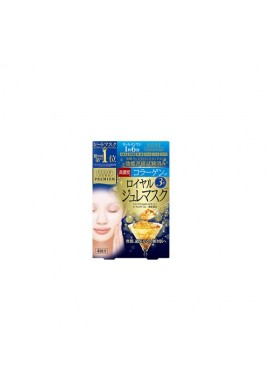 Azjatyckie kosmetyki Kose COSMEPORT Clear Turn Premium Royal Jelly Mask Collagen