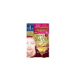 Azjatyckie kosmetyki Kose COSMEPORT Clear Turn Premium Royal Jelly Mask Hyaluronic Acid