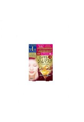 Azjatyckie kosmetyki Kose COSMEPORT Clear Turn Premium Royal Jelly Mask Hyaluronic Acid