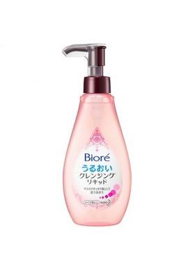 Biore Kao Uruoi Cleansing Liquid Makeup Remover