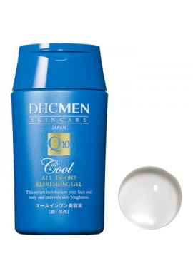 Azjatyckie kosmetyki DHC MEN Skin Care Q10 Cool all-in-one Refreshing Gel
