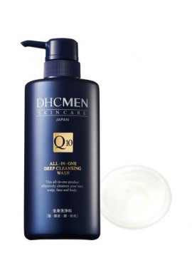 Azjatyckie kosmetyki DHC MEN Skin Care Q10 all-in-one Deep Cleansing Wash