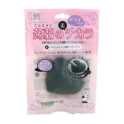 Konjac Cleansing Massage PuffBamboo Charcoal