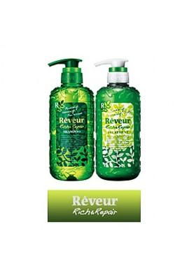 Azjatyckie kosmetyki Reveur Shampoo & Treatment Rich Repair 2x500ml SET ZESTAW