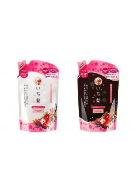Azjatyckie kosmetyki Kracie Ichikami Richness W Moist Care Shampoo & Conditioner REFILL SET 2x360ml ZESTAW