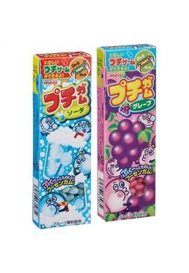 Japońskie słodycze Meiji Puchi Gum Bubblegum Grape or Soda