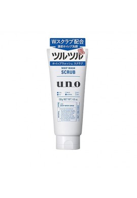 Azjatyckie kosmetyki Shiseido uno Whip Wash Scrub